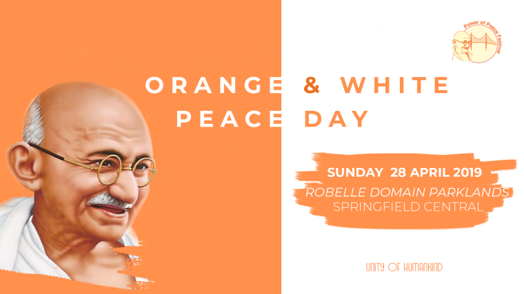 Orange and White Peace Day
